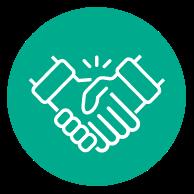 edtech hand icon